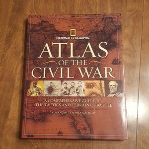 ATLAS OF THE CIVIL WAR KAGAN HYLSOP HARDCOVER